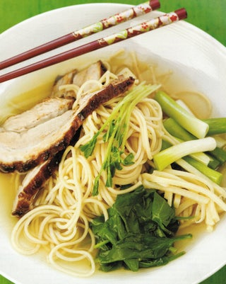 Twice Cooked Japanese Pork On Noodles