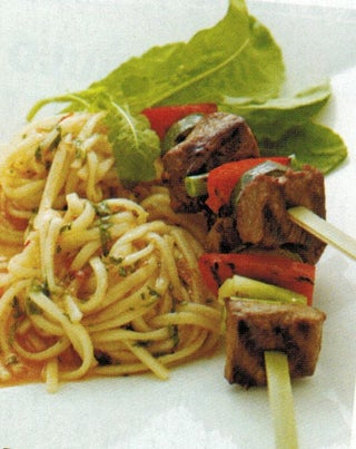 Stir Fried Lamb With Udon Noodles