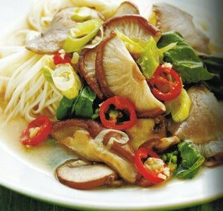 Mushrooms With Noodles