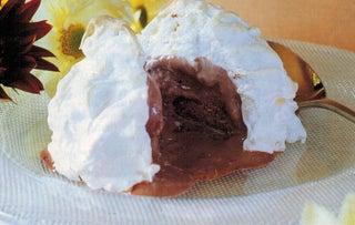 Chocolate And Hazelnut Praline Mini Bombe Alaskas