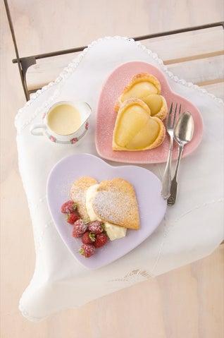 Raspberry And Hazelnut Shortcakes
