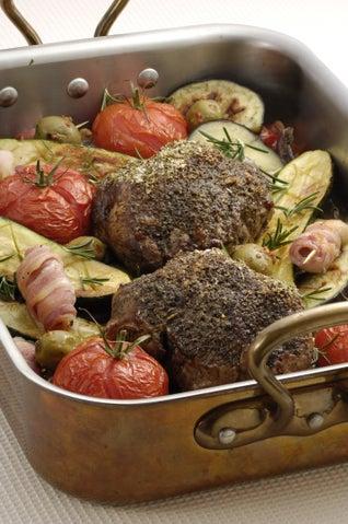 Quick Mediterranean Roast Lamb