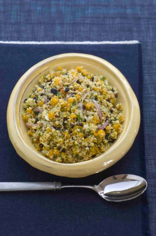 Sweet Pumpkin And Couscous Salad