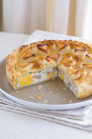 Egg & Bacon Pie