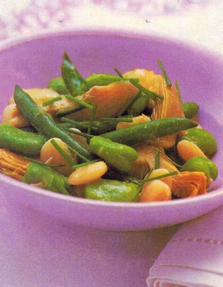 Summer three-bean salad