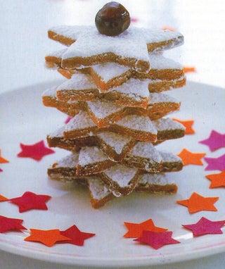 Christmas Hazelnut Biscuits