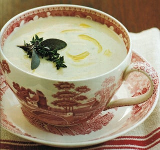 Roasted Jerusalem Artichoke Soup