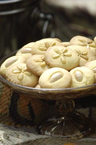 Orange Blossom Water Butter Biscuits