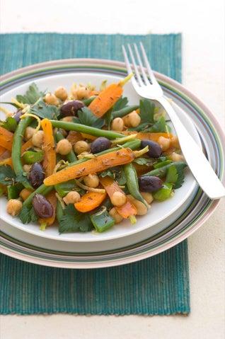 Moroccan Bean Salad