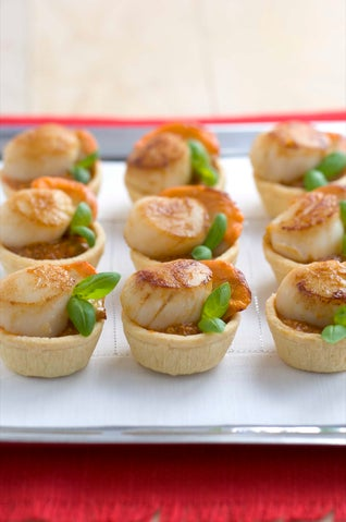 Easy Scallop Tartlets