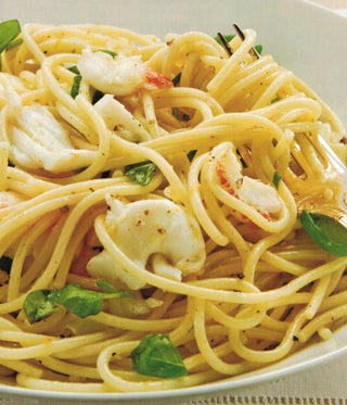 Pasta With Lobster And Basil