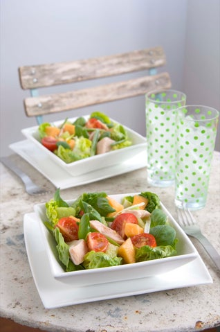 Smoked Chicken And Melon Salad