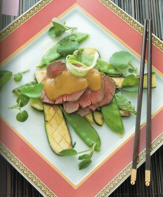 Beef With Mustard Miso