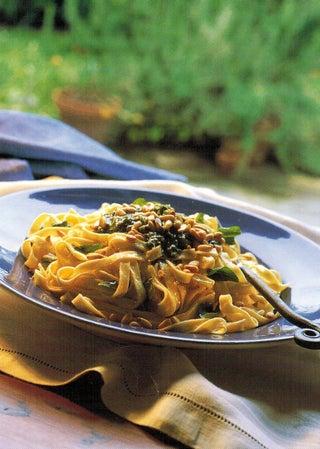 Fettucine with Pesto
