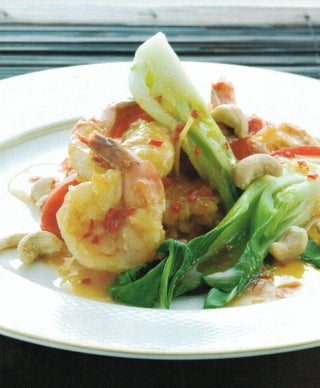 Lime Sweet And Sour Prawns