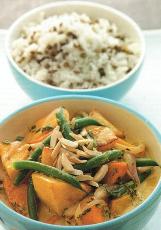 Caribbean-style Curried Vegetables With Rice