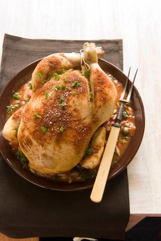 Puttanesca Chicken