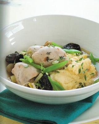 Thyme Baked Chicken With Prunes And Olives