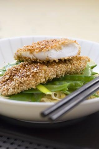 Teriyaki And Sesame Fish Fillets