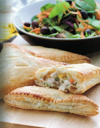 Chicken And Ham Turnovers