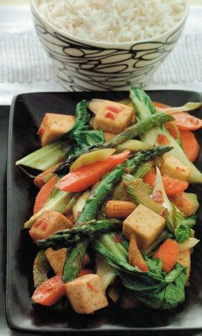 Chilli Tofu Stir Fry