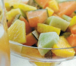 Tropical Fruit In Lemongrass Syrup