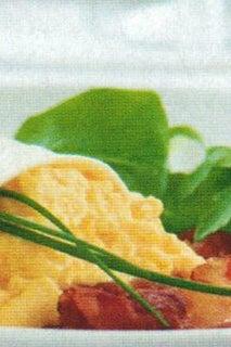 Creamy Scrambled Eggs With Pancetta