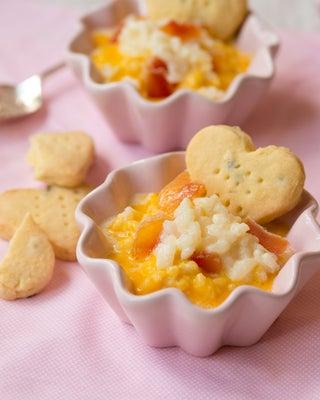 Cardamom Cream Rice With Papaya