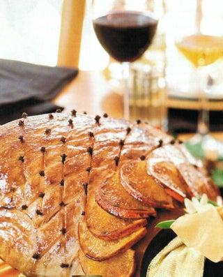 Balsamic Glaze And Grappa Glazed Ham