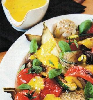Roasted Vegetable Platter
