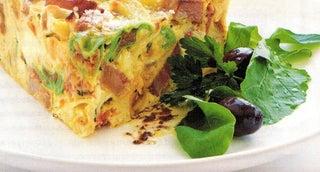 Deli-style Tortellini Frittata