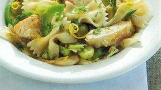 Lemon Pasta And Chicken Salad