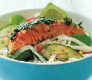 Thai Cured Salmon And Noodle Salad