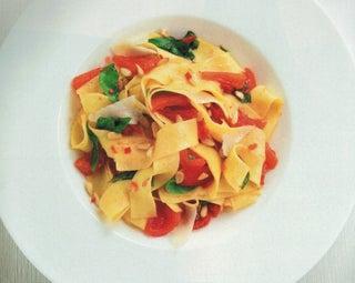 Fresh Tomato Pappardelle