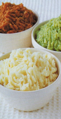Mashed Potato With Cheese And Chives