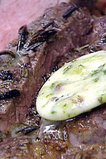 The perfect steak with tarragon butter