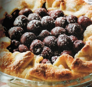 Cherry Pie with Cream Cheese Pastry