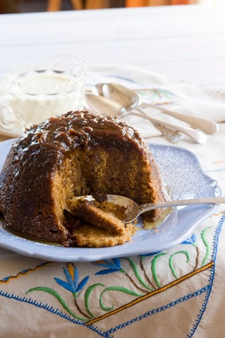 Ginger and Treacle Pudding