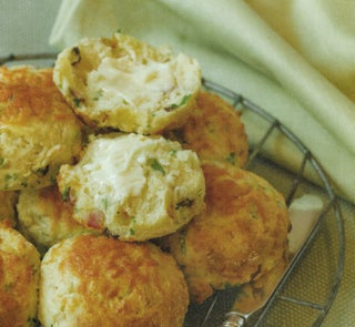 Potato and bacon scones
