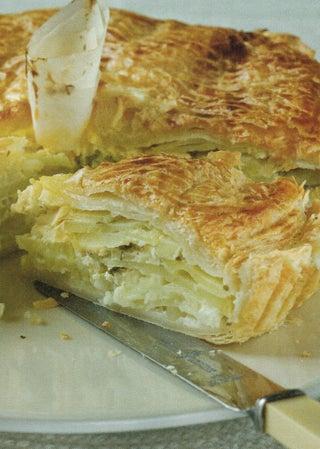 Potato and cream pie
