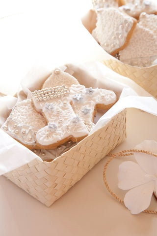 Lavender and vanilla biscuits