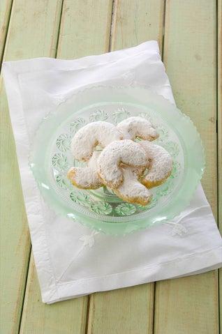 Greek shortbread cookies