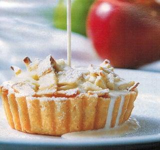 Apple Frangipani Tarts