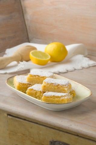 Divine lemon squares