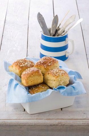 Annie's oat bran scones