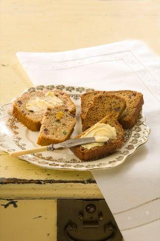 Breakfast tea fruit loaf
