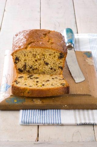 Marmalade and fig tea bread
