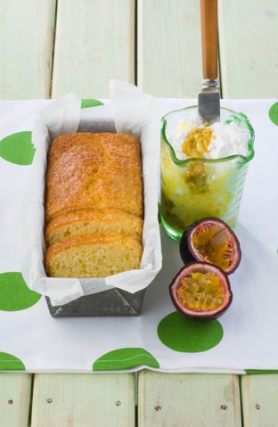 Yoghurt and coconut loaf