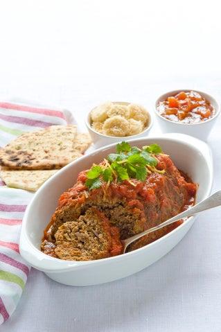 Indian-spiced meatloaf