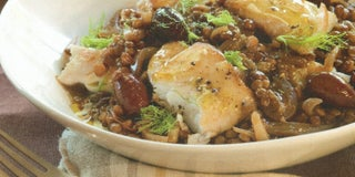 French fennel and lentil braise